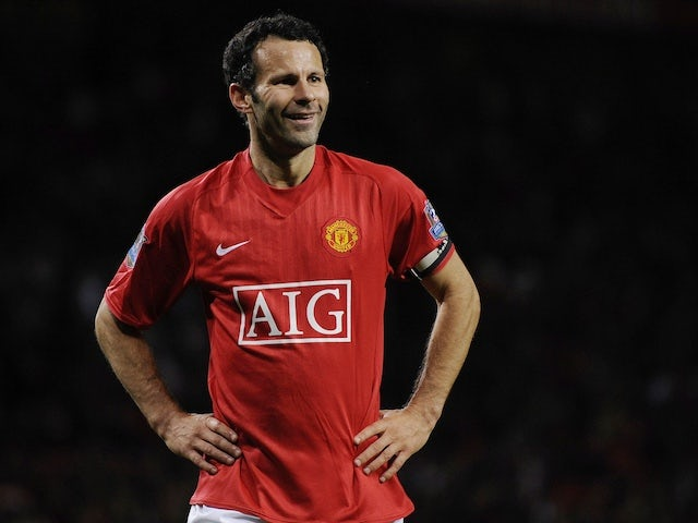 Ryan Giggs pictured in 2008