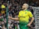 Teemu Pukki celebrates scoring from the spot for Norwich City on January 18, 2020