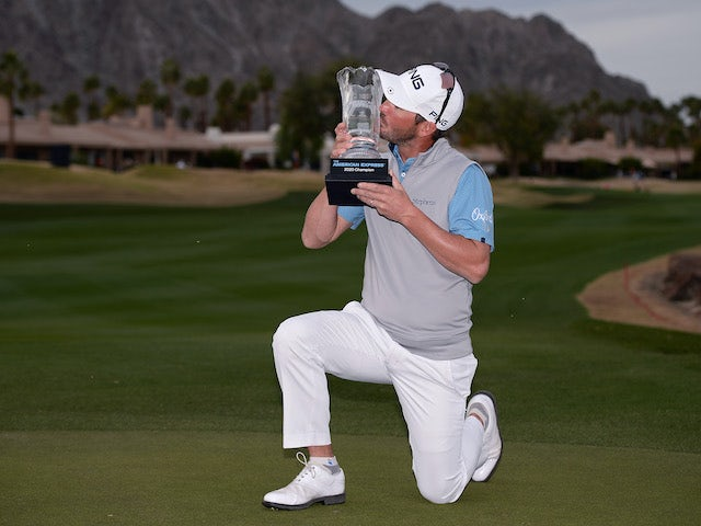 Result: Andrew Landry finishes with two birdies to take The American Express title