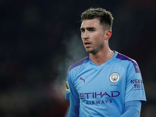 Manchester City's Aymeric Laporte pictured on January 21, 2020