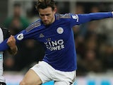 Ben Chilwell in action for Leicester City on January 1, 2020