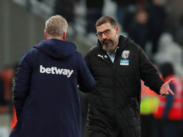 Result: Slaven Bilic makes winning return to West Ham as West Brom progress