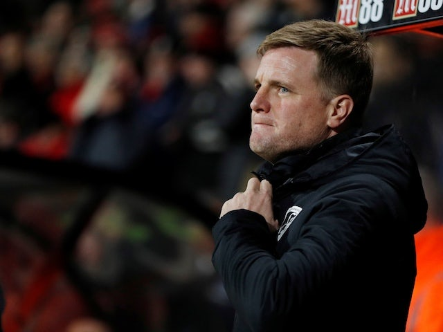 Coronavirus: Eddie Howe becomes first Premier League manager to take pay cut