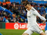 Gareth Bale in action for Real Madrid on January 4, 2020