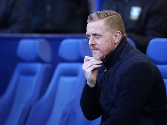 Sheffield Wednesday manager Garry Monk pictured in January 2020