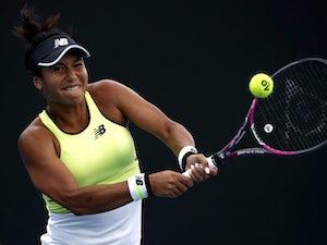 Australian Open day three: Heather Watson through as Dan Evans crashes out