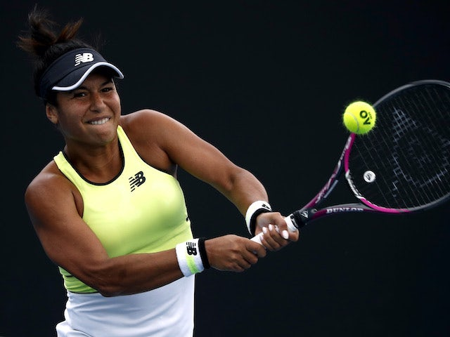 Australian Open day three: Heather Watson through as Dan Evans crashes out