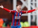 Crystal Palace midfielder James McCarthy pictured in January 2020