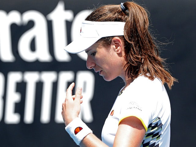 Result: Johanna Konta crashes out of Australian Open