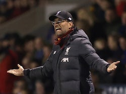 Liverpool manager Jurgen Klopp pictured on January 26, 2020