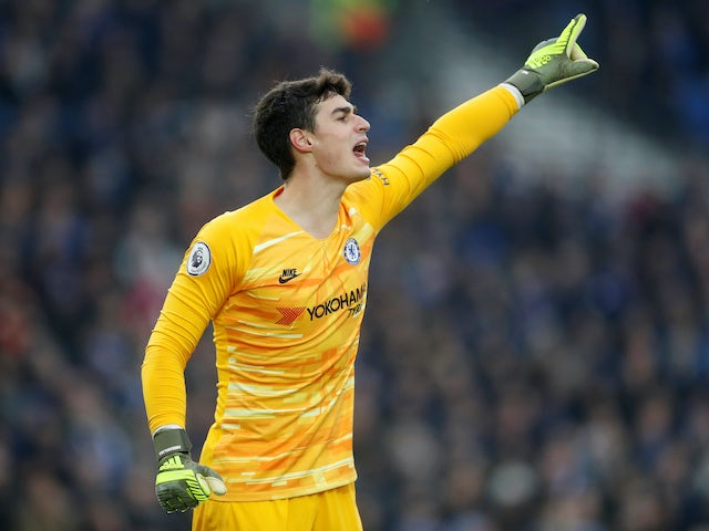 Kepa to lead eight-player Chelsea clear out?