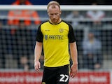 Liam Boyce in action for Burton Albion in the FA Cup on January 5, 2020
