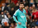 Lionel Messi in action for Barcelona on January 25, 2020