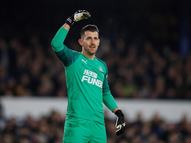 Newcastle United's Martin Dubravka pictured on January 21, 2020