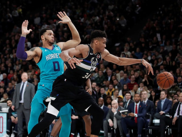NBA roundup: Milwaukee Bucks beat Charlotte Hornets in first ever Paris game