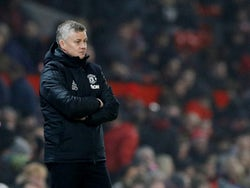 Manchester United manager Ole Gunnar Solskjaer looks dejected on January 22, 2020