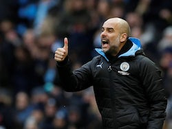 Manchester City manager Pep Guardiola on January 26, 2020