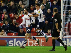 Tom Barkhuizen scores twice as Preston ease past Barnsley