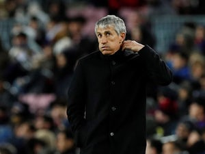 Quique Setien dismisses Barcelona coronavirus fears ahead of Napoli test
