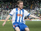 Rory McKenzie in action for Kilmarnock in March 2016