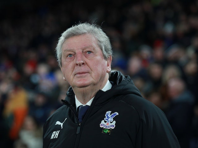 Crystal Palace manager Roy Hodgson pictured on January 21, 2020
