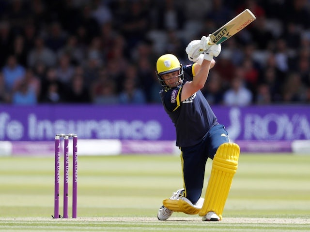 Hampshire batsman Sam Northeast refusing to give up on England dream