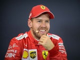 Ferrari's Sebastian Vettel pictured in November 2019