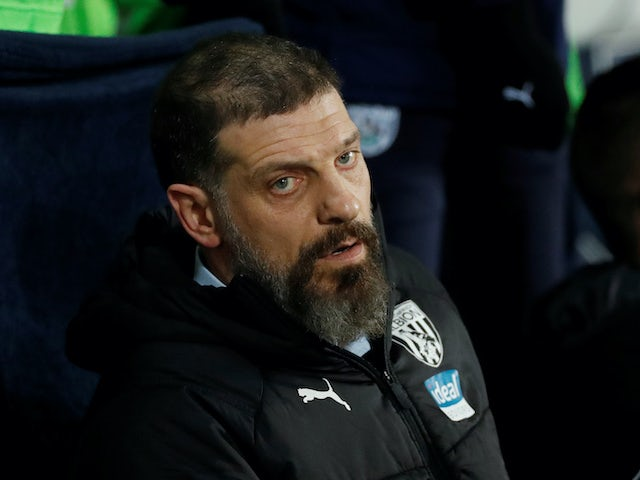 West Bromwich Albion manager Slaven Bilic on January 20, 2020