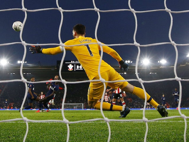 Result: Spurs condemned to cup replay after late Southampton leveller