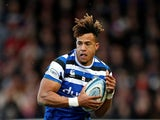 Bath's Anthony Watson in action on January 4, 2020