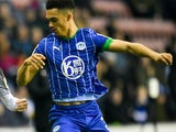 Antonee Robinson in action for Wigan on December 26, 2019