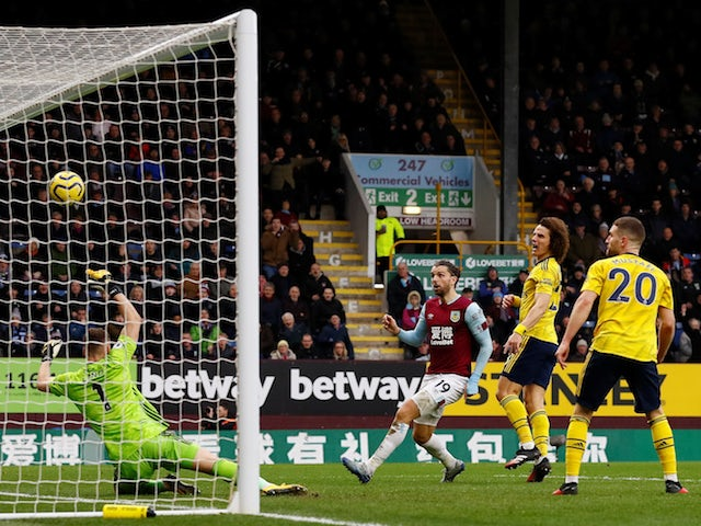 Result: Wasteful Burnley held to stalemate by Arsenal