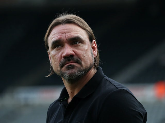 Norwich City boss Daniel Farke on February 1, 2020
