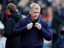 West Ham boss David Moyes on February 1, 2020