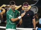 "Roger Federer ""happy"" despite ""horrible"" defeat to Novak Djokovic"