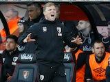 Bournemouth boss Eddie Howe on February 1, 2020