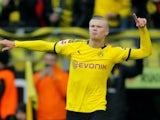 Erling Braut Haaland scores yet again for Borussia Dortmund on February 1, 2020