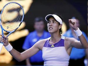 Garbine Muguruza beats Simona Halep to set up Sofia Kenin final