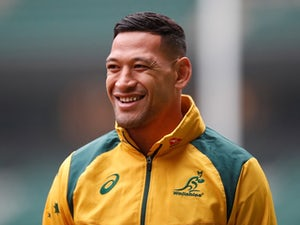 Israel Folau begins training with Catalans Dragons following controversial move