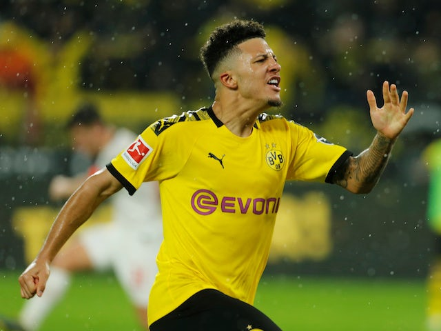 Liverpool to rival Man Utd, Chelsea for Sancho?