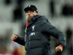 Liverpool manager Jurgen Klopp celebrates after the match on January 29, 2020