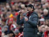 Liverpool manager Jurgen Klopp on February 1, 2020