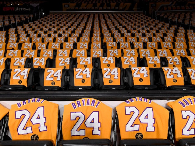 LA Lakers honour Kobe Bryant in first game since icon's death