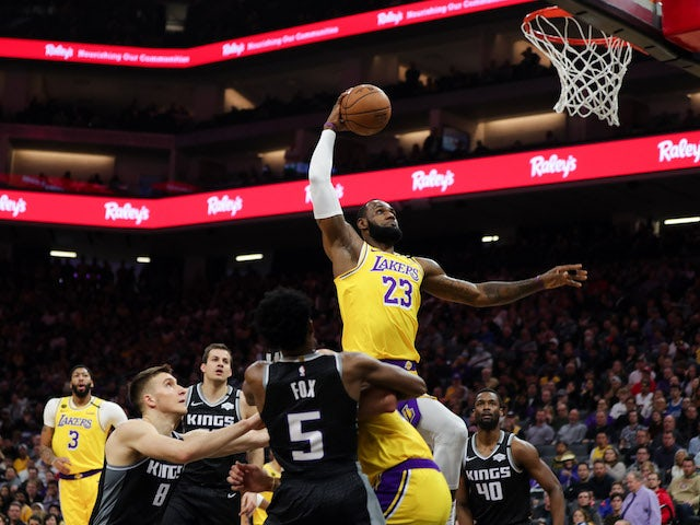 NBA roundup: LeBron James stars in first LA Lakers win since Kobe Bryant's death