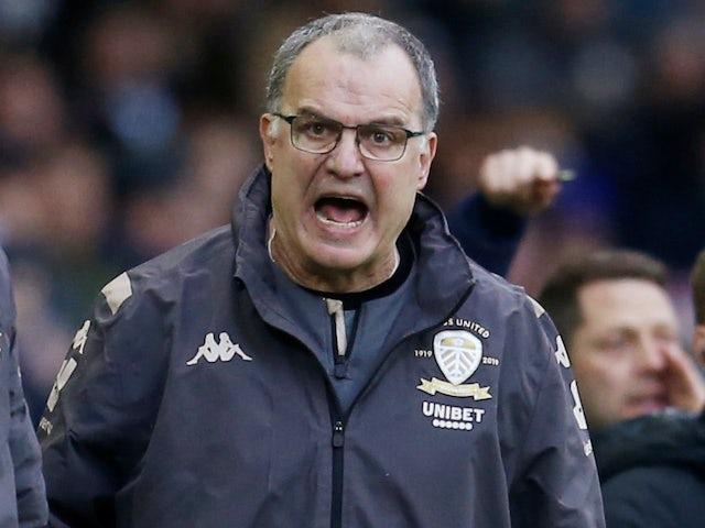 Angry Leeds manager Marcelo Bielsa on February 1, 2020