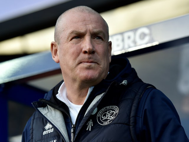 QPR boss Mark Warburton on February 1, 2020