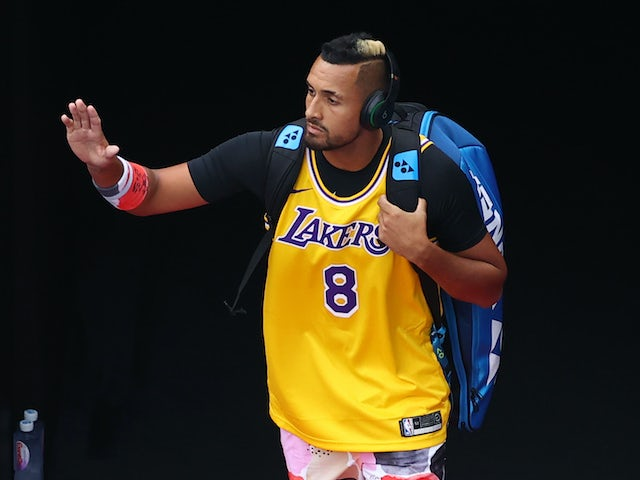 Nick Kyrgios leads tennis tributes to basketball legend Kobe Bryant