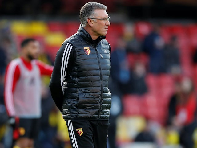 Watford boss Nigel Pearson on February 1, 2020