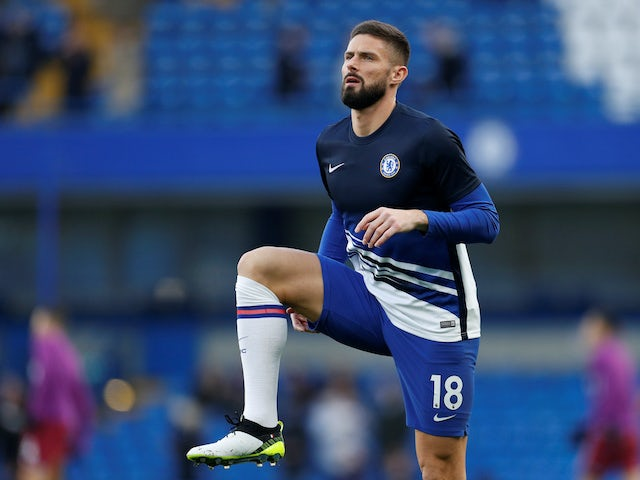 Lampard: 'Giroud is staying at Chelsea'