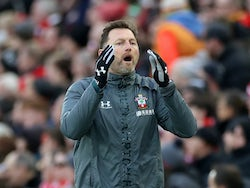 Southampton boss Ralph Hasenhuttl on February 1, 2020